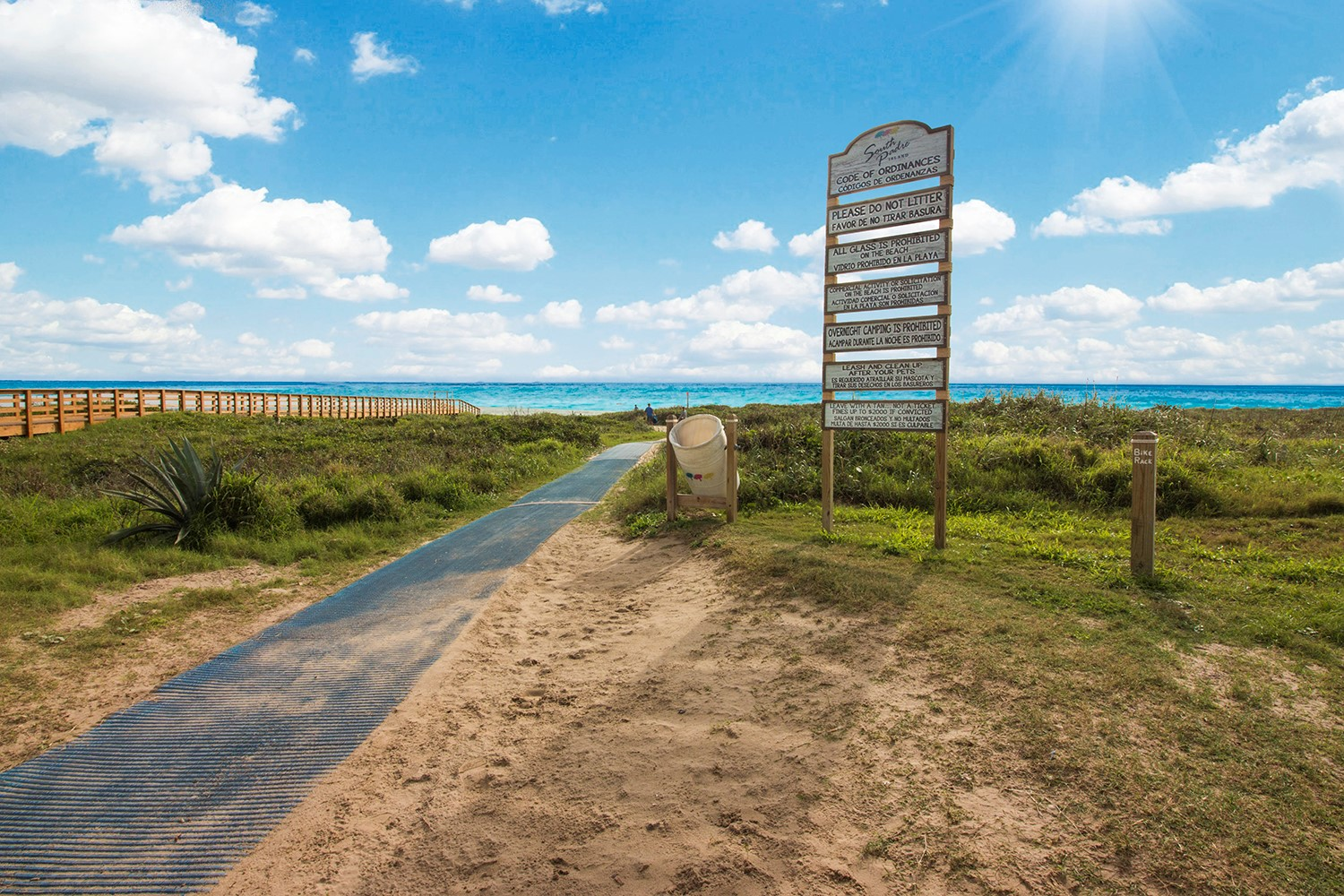 South Padre Island Beach Access With Restrooms